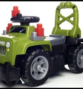 Машинка Mega blocks 3 в 1
