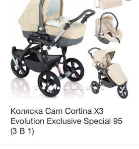 Коляска Cam 3в1 Cortina