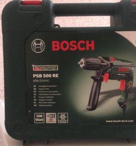 Электро дрель шуруповёрт Bosh 500