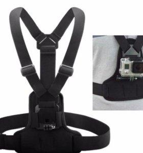 Нагрудное крепление для Экшен камер (GoPro,...