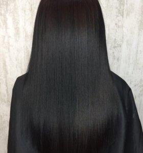 Кератиновое выпрямление, Ботокс волос.