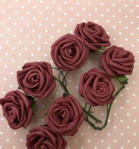 Набор роз для скрапбукинга