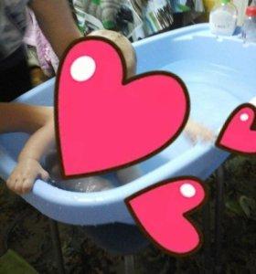 Ванночка+ круг на шейку для купания.