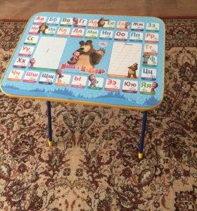 Столик детский и стул