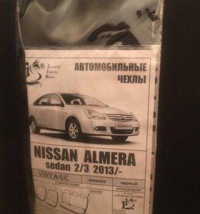 Чехлы для сидений Ниссан Альмера, новые