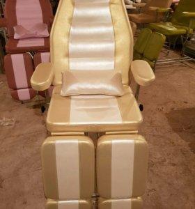 Педикюрно-косметологическое кресло новинка