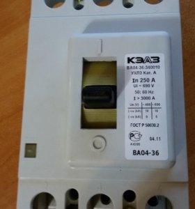 Выключатель автоматический ва04-36-340010