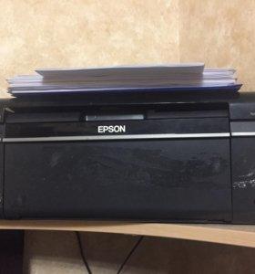 Принтер Epson т50 2 шт, епсон l110 1шт