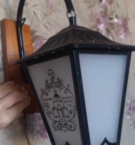 Бра, лампа-фонарь