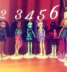 Куклы : Монстер Хай , Эвер Апстер Хай ,Винкс .