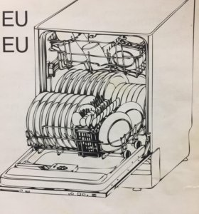 Посудомоечная машина Krona BDE 4507 на запчасти