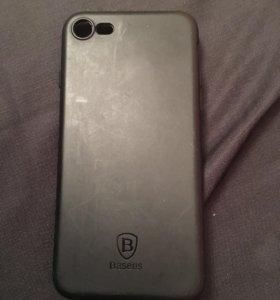 Силиконовый чехол Baseus для iPhone 7