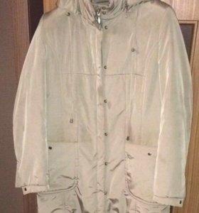 Куртка женская, демисезон, оливковый цвет