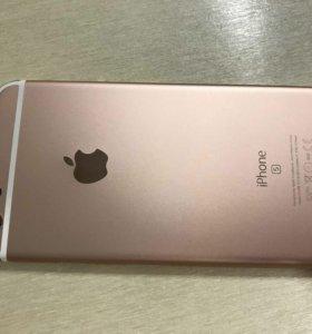 Корпус для IPhone 6s rose gold
