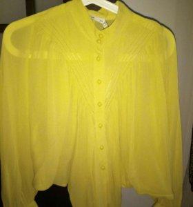 Брендовая блузка новая, 44-46