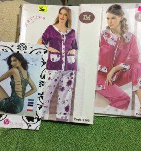 белье пижамы