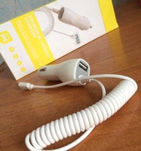 Автомобильное зарядное устройство Apple