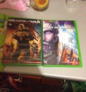 Gears of war и lost planet 3 на Xbox 360 плюс диск