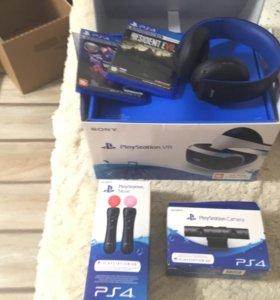 PS VR + куча всего