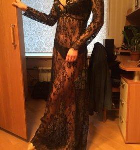 Сексуальное платье с кристаллами Swarovski