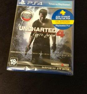 PS4 Uncharted 4 (Новый запечатанный)