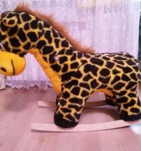 Игрушка-качалка Жираф