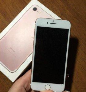 iPhone 7 rose , 32 gb