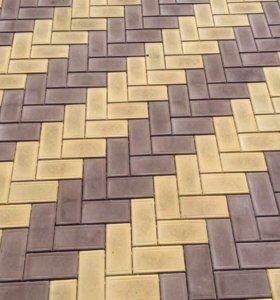 Тротуарная плитка.