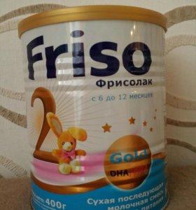 Молочная смесь Friso Фрисолак Gold 2 с 6-12 мес.