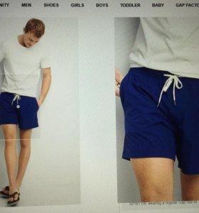 Новые мужские шорты-плавки GAP