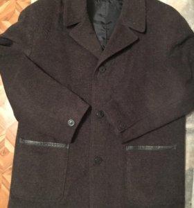 Пальто мужское шерстяное