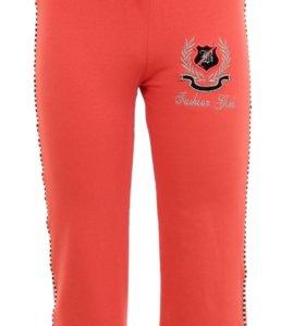 Детские трикотажные штаны для девочки