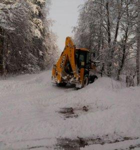 Уборка снега в Ногинске