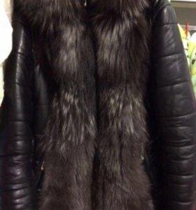Зимняя курточка натуральный мех