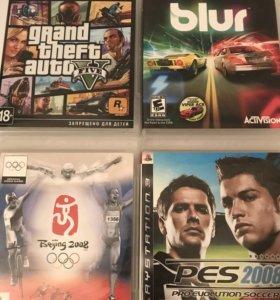 Комплект игр для PS3