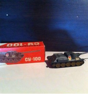 Модель танк СССР