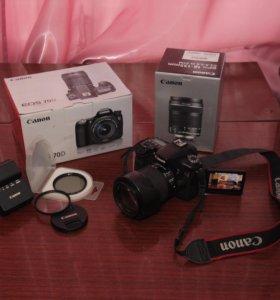 Canon 70d с объективом