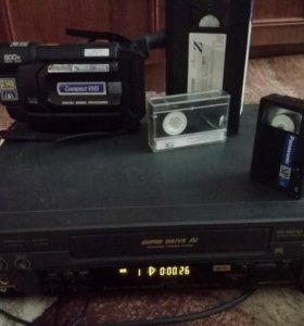 Продам видеокамеру vhs-c