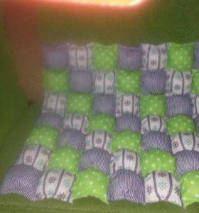 Коврик (бон-бон)на заказ и подушечки.