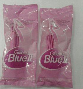 Женские бритвенные станки Gillette Blue 2