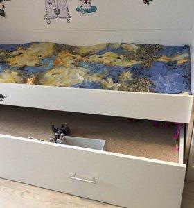 Кровать двух этажная Детская