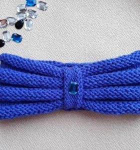 Вязаные повязки на голову