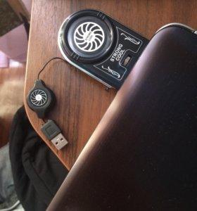 Универсальный вентилятор охлаждения для ноутбука
