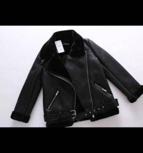 Новая куртка -косуха 46-48р