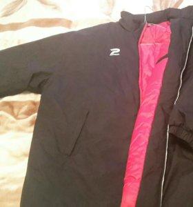 Спортивная утепленная куртка