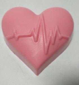 Продаю сердечко с пульсом мыльце