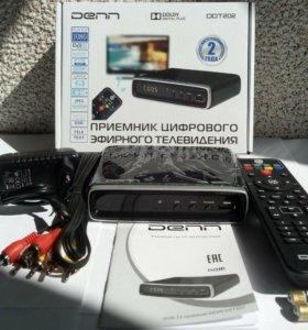 Приставка для цифрового ТВ DENN DDT202