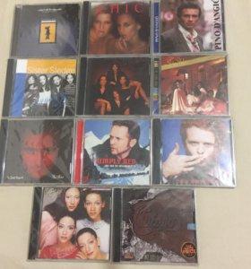CD ДИСКИ МУЗЫКА ФИРМЕННЫЕ НОВЫЕ