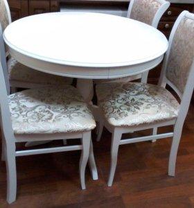 Новая обеденная группа стол и стулья