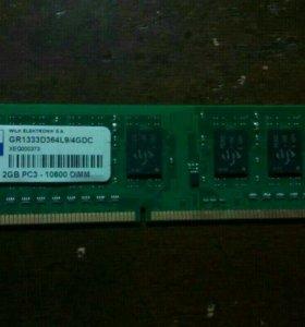 Оперативка DDR3 2gb(для компьютера)